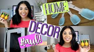 home decor haul home goods tjmaxx world market youtube