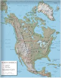 North America Map Labeled by Language And Culture Assistant U0027s Blog 3rd Cycle Relief In The