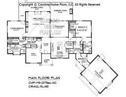 Slab Home Floor Plans Midsize Craftsman House Plan Chp Ms 2379 Ac Sq Ft Midsize