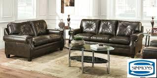 Simmons Living Room Furniture Espresso Living Room Ember Living Room Set Espresso A Ember Sofa