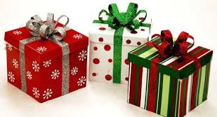 wrapped christmas boxes gifts images search