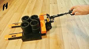 how to build the pallet jack lego technic moc lego tips
