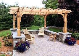 Small Backyard Pergola Ideas Backyard Pergola Pictures Backyard Arbors Pictures 24 Inspiring