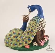 peacock wedding cake topper peacock wedding cake topper
