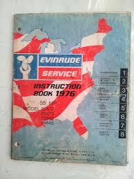 service manual evinrude 1976 55 hp u2022 aud 35 00 picclick au