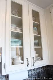 beveled glass kitchen cabinets kitchen makeover
