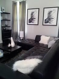 black and white living room with decor pinterest intended design