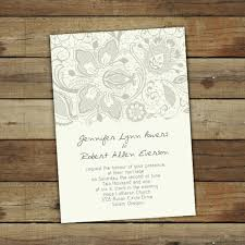 wedding invitations lace simple floral lace wedding invitations ewi262 as low as 0 94