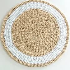 how to crochet a round rug roselawnlutheran