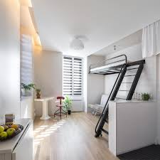 Studio Apartment Bed Ideas Cool White Bed Seat Studio Apartment Decorating Stainless Steel