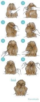 directions for easy updos for medium hair best 25 easy hairstyles ideas on pinterest hair styles easy