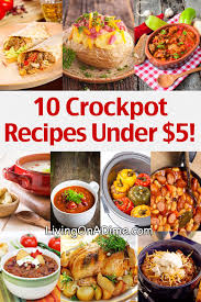 slow cooker steak and potatoes 5 dollar dinnerscom 10 crockpot recipes under 5 easy meals your family will love
