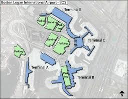 Denver Terminal B Map Logan Airport Terminal C Map Map Of Logan Airport Terminal C