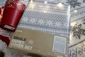 Primark Single Duvet Cover Christmas Homeware Haul Sleek Chic