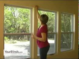 Installing Window Blinds Outside Mount How To Install Roller Shades Outside Mount Yourblinds Com Diy