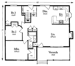 House Plans For 1200 Sq Ft 1200 Sq Ft House Plans With Garage Homeca