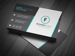 free business card layout 13378