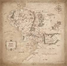 map from lord of the rings lord of the rings middle earth map major tourist