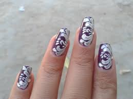 painted nails designs how you can do it at home pictures