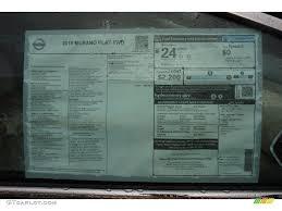 nissan murano window motor 2015 nissan murano platinum window sticker photos gtcarlot com