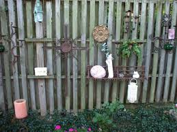 exterior attractive fence decor for better exterior layouts