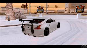 nissan 370z winter driving nissan 370z drift edition for gta san andreas