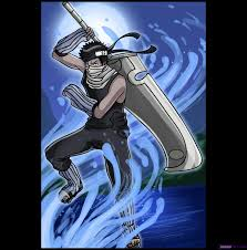learn draw zabuza naruto characters anime draw japanese