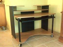 Computer Chairs Without Wheels Design Ideas Office Desk Wheels Desk With Wheels Marvelous Computer Desk On