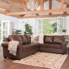 studded leather sectional sofa legend 3 piece faux leather left facing sectional sofa set with free