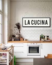 decor de cuisine la cucina signe signe de la cuisine cuisine italienne