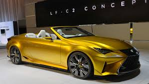 lexus convertible 2017 lexus lf c2 convertible purely a concept says chief designer