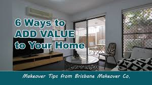House Makeover Tv Shows 6 Ways To Add Value To Your Home Makeover Tips Youtube