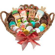 gift baskets for christmas fortune 12 large christmas edition gourmet gift basket