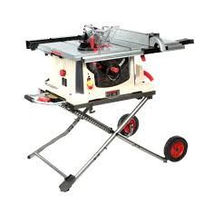 jet benchtop table saw jet 15 amp 10 in professional jobsite table saw with rolling stand