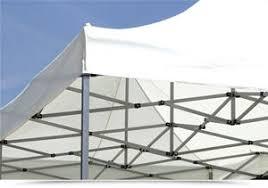 gazebo in alluminio pieghevole pieghevole 6x3 in alluminio con struttura rettangolare e telo ecru