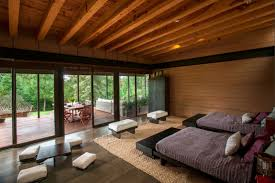architecture the application of exposed beam ceiling as one of