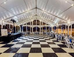 white floor rental floors rentals miami broward portable wedding flooring