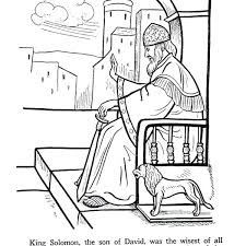 coloring page for king solomon king solomon coloring pages coloring collection