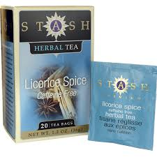 stash tea licorice spice herbal tea caffeine free 20 bag s