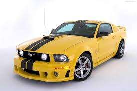 yellow modified ford mustang hd wallpaper car wallpapers