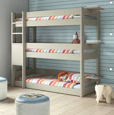 3 Tier Bunk Bed Bedroom 3 Tier Bunk Bed Modern Beds Other