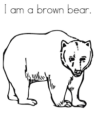 fancy brown bear coloring pages 80 additional coloring print
