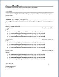Plumber Resume Sample by Resume Template Resume Samples Resume Formats