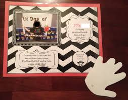 grandparents day writing paper teaching with terhune grandparent s day craft i tape the handprint on the paper so it folds open as if it were blowing a kiss and the message