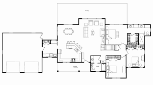 open ranch floor plans ranch house plans open floor plan awesome 6 ranch house
