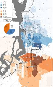 Seattle Area Code Map by Blog Spatialities