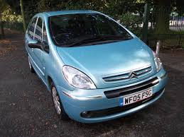 citroen xsara picasso 2 0 hdi exclusive 5dr blue 2005 3 months