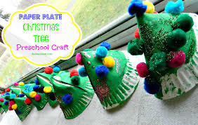 preschool christmas tree craft christmas lights decoration