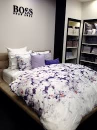 hugo boss bedding watercolor floral hello arte e inspiration