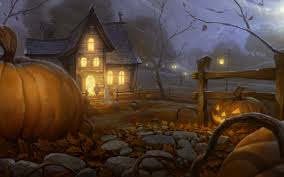 awesome halloween high resolution wallpaper for desktop